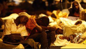 Many flee Haiti capital, govt plans tent cities
