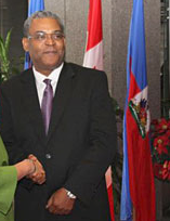 NEWS FLASH-Haitian Prime Minister Bellerive was arrested at the Dominican/Haitian border as he tried to flee Haiti.