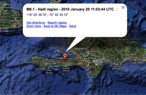 Aftershock Shakes Haiti; No Apparent Damage