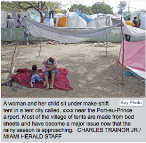 Haiti president pleads for tents(but that is not a genuine request-read more); nearly 500 schools destroyed by quake