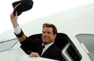 John Travolta flies plane in second Haiti Mercy Mission