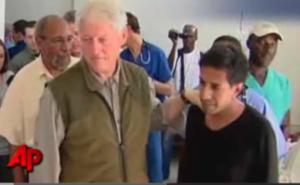 Bill Clinton returns home after heart procedure