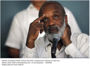 Analysis: Is Haiti's René Préval buckling under? He should resign! Commentary added in article