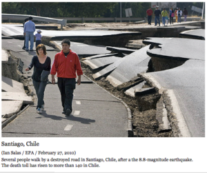 Chile's quake 500 times more powerful than Haiti's
