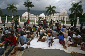 Who'll rule the tent cities of Haiti?