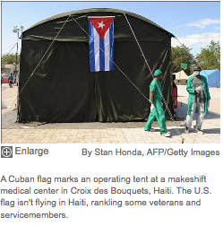 Absence of U.S. flag in Haiti sparks controversy -Added COMMENTARY By Haitian-Truth