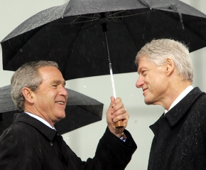 Clinton And Bush To Travel To Haiti To Discuss Recovery Efforts