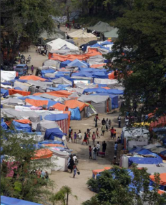 UN chief sees dangers up-close in Haiti quake camp-Added COMMENTARY By Haitian-Truth
