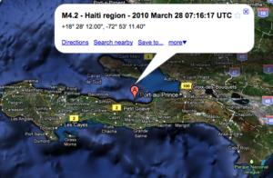 Magnitude 4.2 – HAITI REGION
