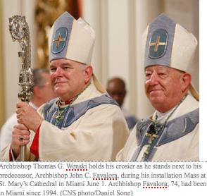 Archbishop Wenski first native son to head Miami Archdiocese