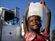 Aid agencies 'stretched to limit' in Haiti