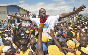 THAT MAKES ABOUT 332 CANDIDATES SO FAR  Haitian musicians seek presidency