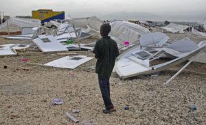 Sean Penn – Penn's Haiti Camp Hit By Storms