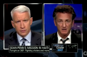 SEAN PENN:Haiti's Battle Against Cholera: A Simple Matter of Water? Nepalese MINUSTAH contingent pollute river with cholera carrying waste.