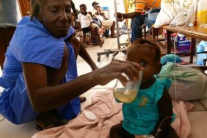 Haiti Struggles to Contain Cholera