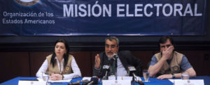 OAS Stakeholders meet on Haiti's Preparation for November Elections