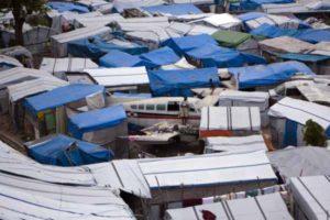Haiti's tent cities to bear worst of potential hurricane Tomas
