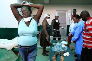Cholera epidemic leaves Haiti on brink of disaster once more