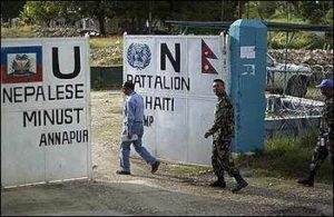 Experts: Did UN troops infect Haiti?