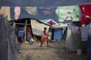 Haiti wants major camp evacuated ahead of storm