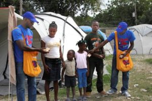 Yele Haiti Takes Cholera Prevention Tent to Tent