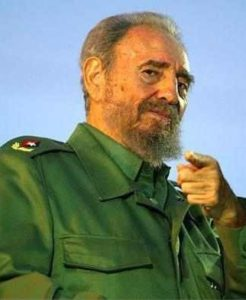 Fidel Castro telephones Cuban aid workers in Haiti