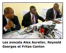 """Un procès contre Duvalier : """"pas possible"""", selon ses avocats"""