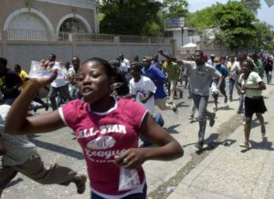 HAITIANS ARE STARTING TO BOIL BECAUSE OF INTERNATIONAL COMMUNITY INTERFERENCE IN THEIR ELECTION