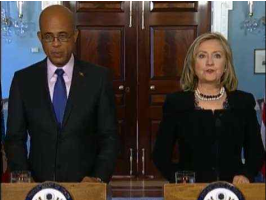 Remarks With Haitian President-Elect Michel Martelly After Their Meeting