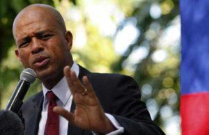 Flash! Le Président Michel Joseph Martelly en lutte contre la corruption et pour