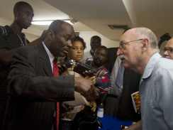 Haiti protesters disrupt Amnesty Int'l presser-Added COMMENTARY By Haitian-Truth