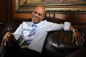 Michel Martelly visits Jean Claude Duvalier to discuss the future of Haiti