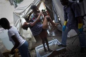 CHOLERA DEATHS CRIMINALLY UNDERSTATED – COULD KILL MORE THAN EARTHQUAKES 337,000  Medicines Sans Frontieres: Haiti: Cholera cases are increasing in Port-au-Prince-Added COMMENTARY By Haitian-Truth