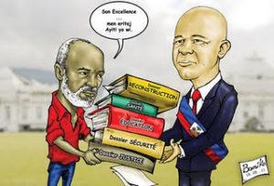 HAITI: LE PRESIDENT DE LA REPUBLIQUE NE PEUT PAS PUBLIER DES AMENDEMENTS CONSTITUTIONNELS FRAUDULEUX Par Georges Michel