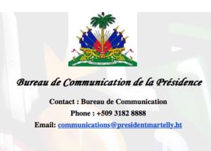 LE PRESIDENT MARTELLY ACCUEILLI PAR UNE FOULE EN LIESSE AU CAP HAITIEN A L'OCCAS