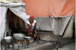 In Haiti billions in aid donations remains undistributed, thousands still live in tents