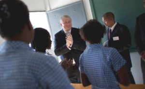 A Billionaire Lends Haiti a Hand