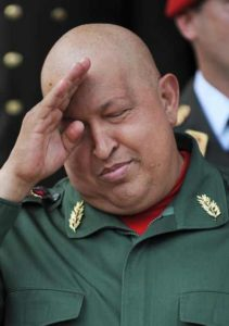 Chavez, battling cancer, fades from world stage