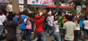 Protests in Haiti against government plan to demolish shantytown