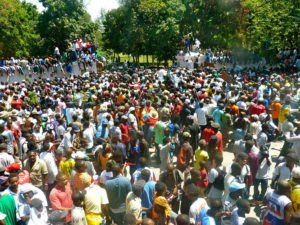 Thousands in Haiti show up for festival-Addd COMMENTARY By Haitian-Truth