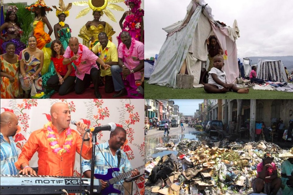CARNIVAL CONTRAST IN MARTELLY'S HAITI