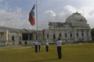 Photographer's blog: Inside Haiti's condemned National Palace