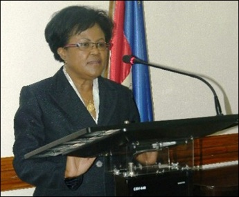 MARIE CARMELLE JEAN MARIE MINISTER OF FINANCE RESIGNS AFTER IMPORTANT SERVICE TO THE NATION AND WE WILL MISS HER BUT ARE THERE HIDDEN MOTIVES?  0130 Hour April 9, 2013