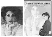 MIREILLE DUROCHER-BERTIN  LETTRE A LA SOCIETE HAITIENNE