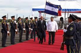 RENCONTRE AVEC LES MEDIAS A MANAGUA AU NICARAGUA