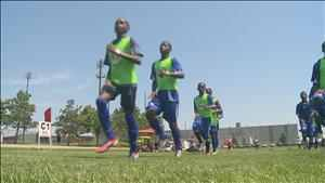 From slums to soccer fields; Team Haiti arrives in Blaine