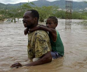 Chantal breaks up, but remnants threaten heavy rain in vulnerable Haiti