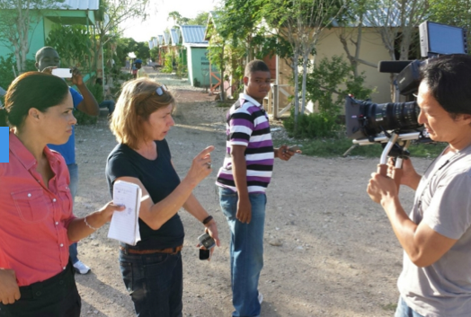 In The Works Aug 13 Slideshow: Go behind the scenes with America Tonight in Haiti