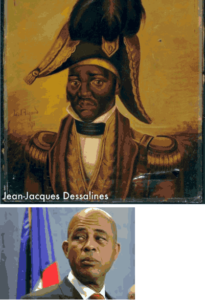 MARTELLY'S SPONTANEOUS CROWD OF OVER 20,000 DROWNS ARISTIDE'S PAID MOB OF FEWER THAN 3,000 AS THE NATION CELEBRATED THE ANNIVERSARY OF JEAN  JACQUES DESSALINES' DEATH OCTOBER 17, 1806…  EVEN AS THE ENTIRE CUSTOMS SYSTEM WAS PARALYZED BY THE ARREST OF SEVERAL BECAUSE OF THE DISAPPEARANCE OF 3 CONTAINERS FROM PORT-AU-PRINCE'S DOCKS. SOME SUGGEST THEY CONTAINED A SHIPMENT OF WEAPONS AND MUNITIONS FOR ARISTIDE SUPPORTERS IN THEIR PLANNED WAR AGAINST THE DEMOCRATICALLY ELECTED GOVERNMENT.