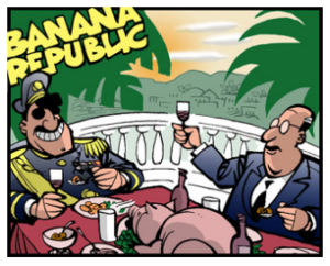 BANANA – DOMINICAN –  REPUBLIC THREATENS TO INVADE HAITI